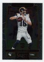 2016 Panini Select JARED GOFF Base Real Rookie Card RC #63 Los Angeles Rams
