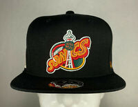 Mitchell and Ness NBA Seattle Supersonics HWC High Crown Fitted Hat