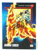 2013 Fleer Marvel Retro Human Torch Autograph Card #6 Ryan Stegman 1992 Impel