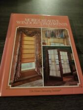 More Creative Window Treatments Book