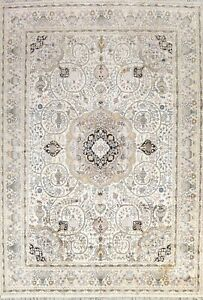 100% Silk Floral Dynasty Historical Handmade Oriental Traditional Area Rug 9x12