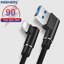 For iPhone iPad mini 90 Degree Fast Charger Data Sync USB Charging Cable Lead