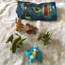 5 How To Train Your Dragon The Hidden World Mystery Dragon Mini Figure Lot New