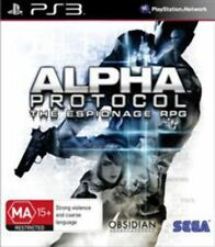 Alpha Protocol PlayStation 3 Game USED