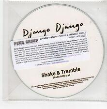 (GE615) Django Django, Shake & Tremble - 2015 DJ CD