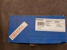 Front  Brake Disc Nissan Kubistar Renault Megane/Clio/Kangoo  Pagid 52820