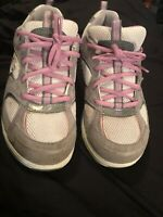 Skechers Womens Shape-Ups Toning Walking Shoes Size 10 US (SN 11806) Gray Pink