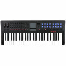 Korg Triton Taktile 49 USB Midi Controller Semi Weighted Keyboard Synthesizer