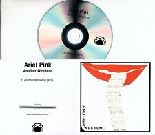 ARIEL PINK Another Weekend 2017 UK 1-trk promo test CD