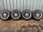 BMW 1 3 Series M Sport 17 Inch Staggered Alloy Wheels & Tyres Primastar Vivaro