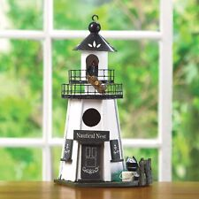 """New listing Nautical Nest Birdhouse """" A Safe Haven for your feathered friends Free Shipping"""