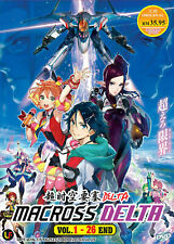 Macross Delta Anime DVD (Vol : 1 to 26 end) with English Subtitle