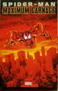 SPIDER-MAN MAXIMUM CARNAGE~ MARVEL TPB NEW *VENOM 2 MOVIE*