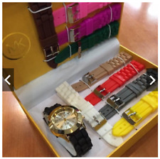 Michael Kors MK Watch Perfect Christmas Gift Set (10 in 1 Straps)