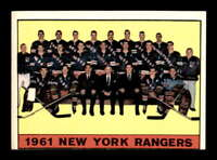 1961 Topps #63 Rangers Team Picture  VGEX X1416851