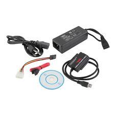 USB 3.0 to IDE SATA S-ATA 2.5 3.5 HD HDD Hard Drive Adapter Converter Cable UL