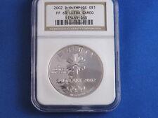 2002-P Olympics Commemorative Silver Dollar NGC PF69
