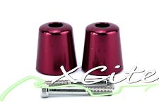 Red barends bar ends SUZUKI GSXR GSX-R GSXR600 GSXR1000 SV650  #BE063#