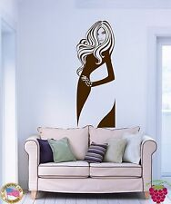 Wall Stickers Vinyl Decal Mermaid Hot Sexy Beautiful Woman Living Room z1119
