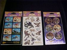 Harry Potter Stickers The Education of Harry 6 Sheets 3 Packs Warner Brothers