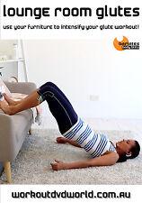 Pilates Barre Fusion BUTT GLUTES DVD - Barlates Body Blitz LOUNGE ROOM GLUTES!
