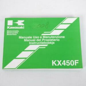 Manuel du propriétaire utilisateur origine Motorrad Kawasaki 450 KXF 99976-1394/
