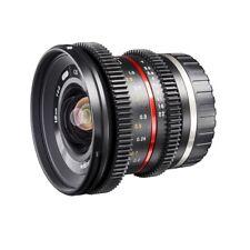 walimex pro 12/2,2 VCSC Superweitwinkel Objektiv für Sony E-Mount schwarz