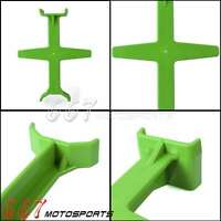 MX Dirt Bike Fork Wheel Guard Support Seal Saver For Kawasaki KX KXF KDX KLX KL