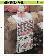 Needlework Nook ~ Armchair Organizer, Annie's plastic canvas pattern