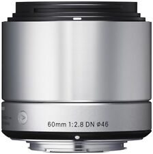Sigma 60mm 1: 2,8 DN pour SONY-E Argent