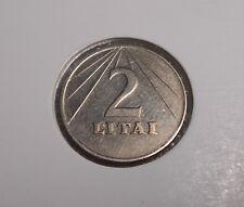 Lithuania 2 Litai Copper-Nickel  Coin 1991 Circulated  (1)