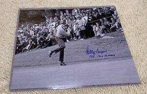 RARE BILLY CASPER PGA LEGEND Signed Autograph 11x14 PHOTO PROOF 1959 66 US OPEN