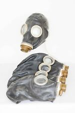 5 pcs of Gas Mask GP-5 mask only NEW but with storage marks S size vintage BLACK