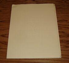 Original 1979 Rolls Royce Silver Ghost Media Press Kit 79