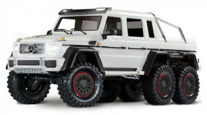 Traxxas TRX-6 Mercedes-Benz G63 AMG 6X6 TQi 2.4G RTR Crawler in WHITE