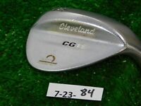 Cleveland CG15 Satin Chrome 56* 14* Sand Wedge Traction Steel