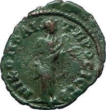 SEPTIMIUS SEVERUS 193AD Nicopolis ad Istrum Ancient Roman Coin HYGEIA i66363