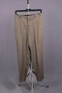 Men's 1960s Levis Sta-Prest Houndstooth Slacks 30x28 60s Vtg Pants