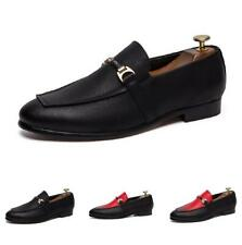 New Men's Leather Fashion Loafers Shoes Pumps Flats Breathable Splice Nightclub