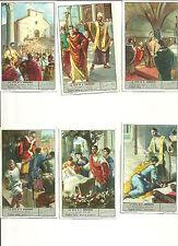 ITALY Liebig trading cards  S 1611 LIFE OF S. AMBROGIO - LA VITA DI SANT' AMBROG