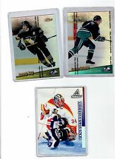 1999-00 TOPPS FINEST REFRACTOR  BOX TOPPERS JAGR-SELANNE & 1997 PINNACLE PROMO