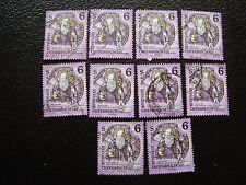 AUTRICHE - timbre yvert et tellier n° 1937 x10 obl (A01) stamp austria (E)