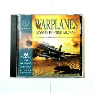 Warplanes: Modern Fighting Aircraft 1976-1994 (PC, 1995) (Complete)