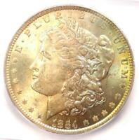 1884-O Morgan Silver Dollar $1 - Certified ICG MS66+ Plus Grade - $300 Value!