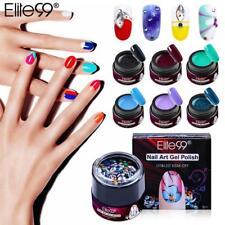 Elite99 Nail Gel Polish Rhinestone Decoration Nail Art Soak Off UV Gel Liner
