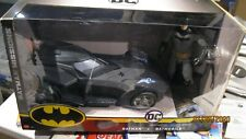 "Batman Missions Action Figure & Missile Launching 15"" Batmobile Mattel Toys"
