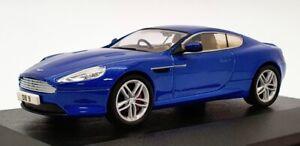 Oxford Diecast 1/43 Scale 43AMDB9003 - Aston Martin DB9 - Cobalt Blue