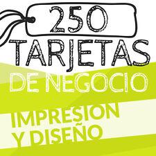 250 TARJETAS DE PRESENTACION - BUSINESS CARD