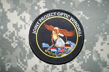 Authentic Joint Project Optic Windmill Military Patch Large Hook no sew on