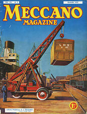 Meccano Magazine, Edition French, N°2 February 1935, Bel Condition